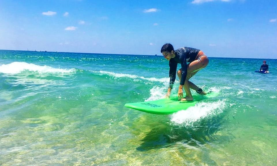 Join Us For Joyful Private Surfing Lessons In Tel Aviv, Israel!