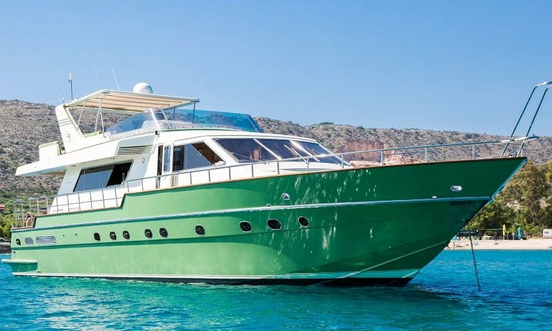 Charter a 70ft Canados Motor Yacht in Rethymno, Greece