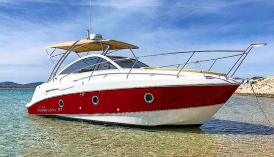 Bénéteau Montecarlo 27 Motor Yacht For 8 People In Ibiza