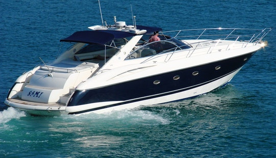 Sunseeker Camargue 50 Motor Yacht In Ibiza, Spain