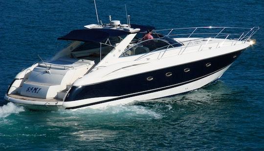 Sunseeker Camargue 50 Motor Yacht In Ibiza, Spain