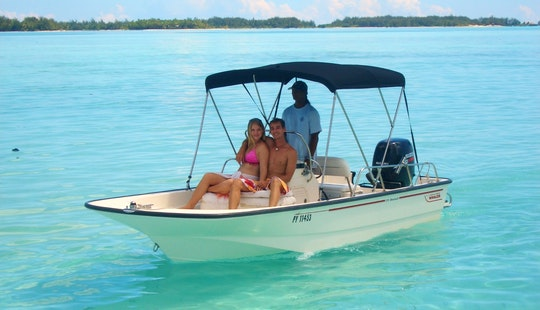 Private Boat Rental Always Done With Captain On Boston Whaler 17ft