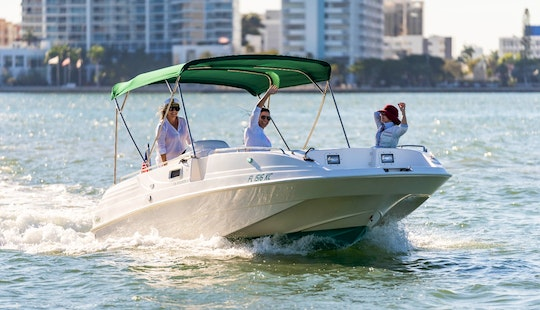 Power Boat For Rent- Experience The Best Miami Tours In A 23' Cobia