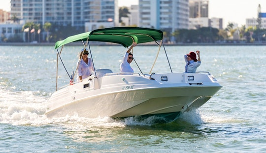 Powerboat For Rent- Experience The Best Miami Boat Tours By Millie On A 23' Cobia