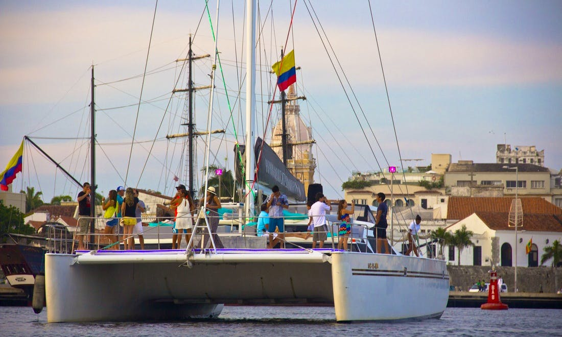 Charter the Maxicat 65 Sailing Catamaran in Cartagena, Colombia