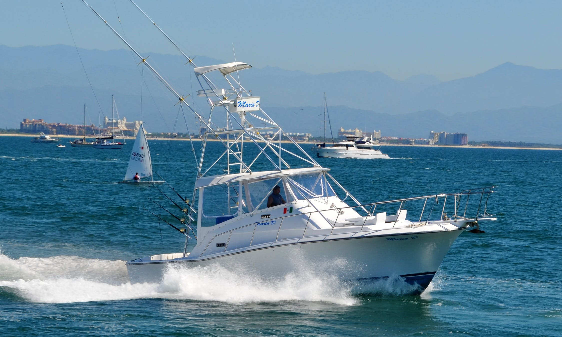 PACIFICA 34 / Fishing Boats rental in Puerto Vallarta
