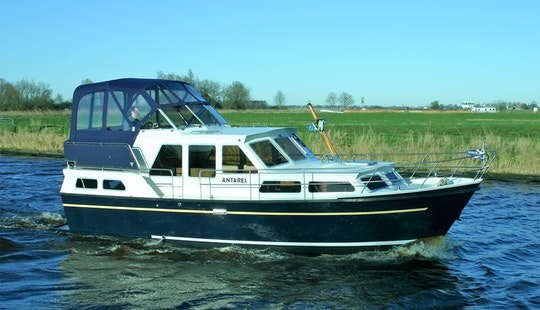 Aquanaut 1000 Motor Yacht Rental In Terherne