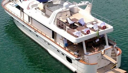 Mega Yacht. Angra Dos Reis Or Rio De Janeiro