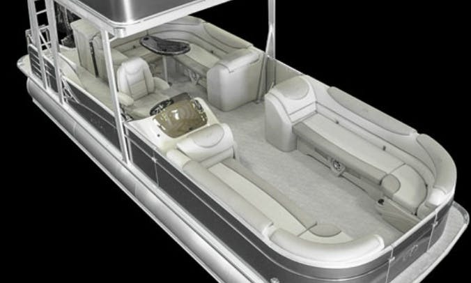 Lake Travis Double Deck Tritoon Party Boat