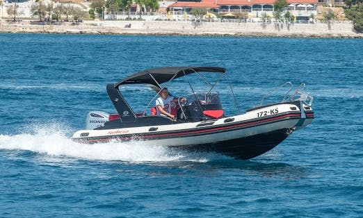 Rent the Aquamax B23F RIB in Trogir for up to 12 people