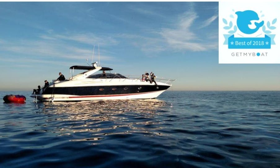 Luxury Motor Yacht, Sunseeker 50 for parties/events! Sunset cruises and catering available now !