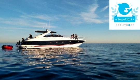 Luxury Motor Yacht, Sunseeker 50 For Parties/events! New: Sunset Cruises!