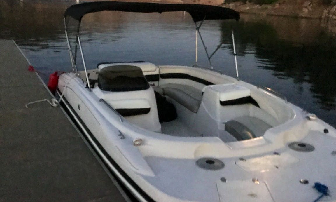Fully Maintained Deck Boat Rental In Pine Flat Lake, California