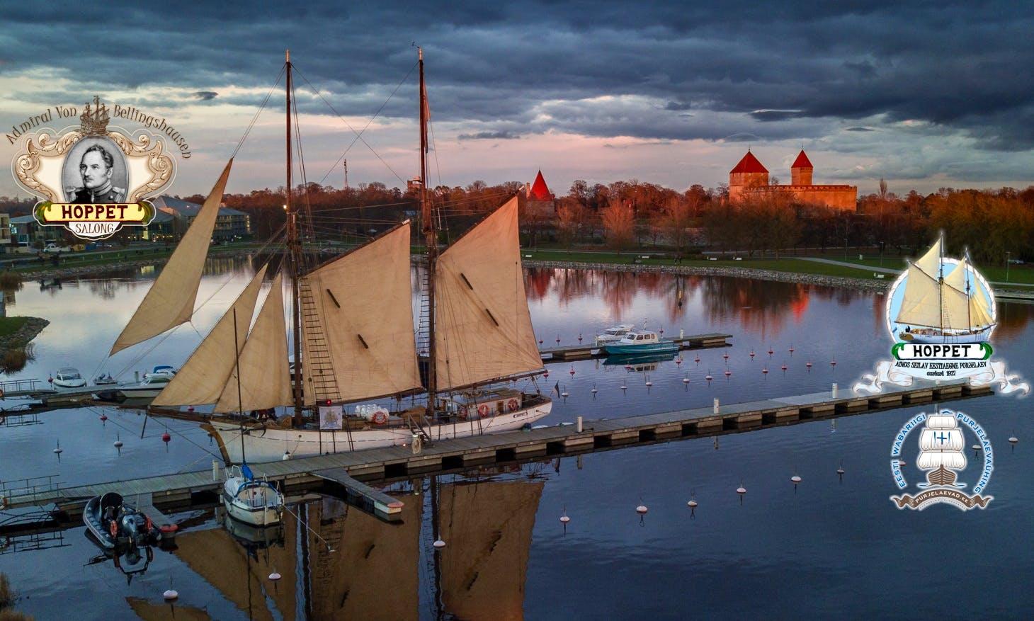 98' Estonian Schooner Rental In Kuressaare Bay & Islands, Estonia