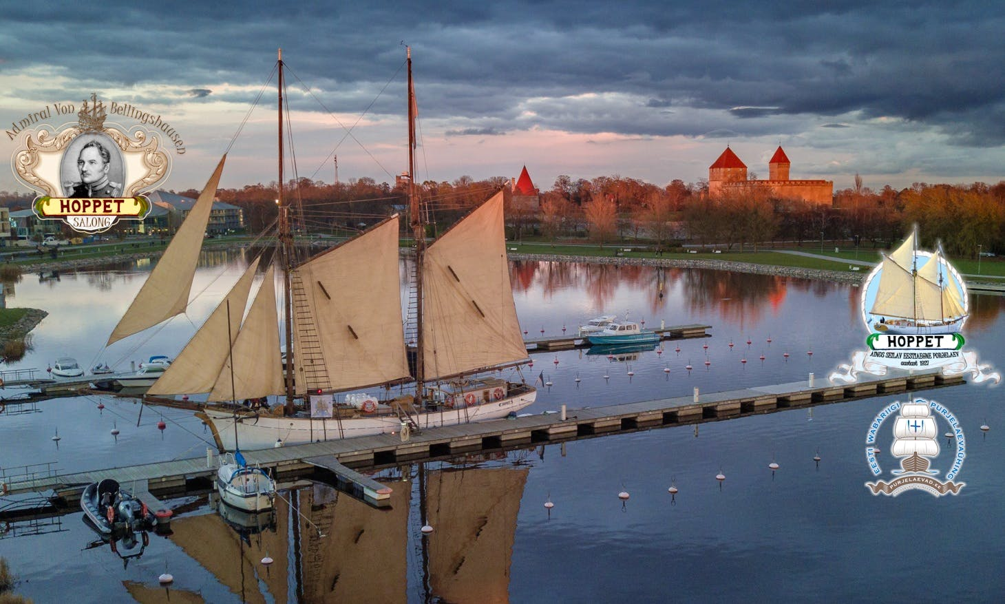 98' Estonian Schooner Rental In Kuressaare Bay & Islands, Estonia