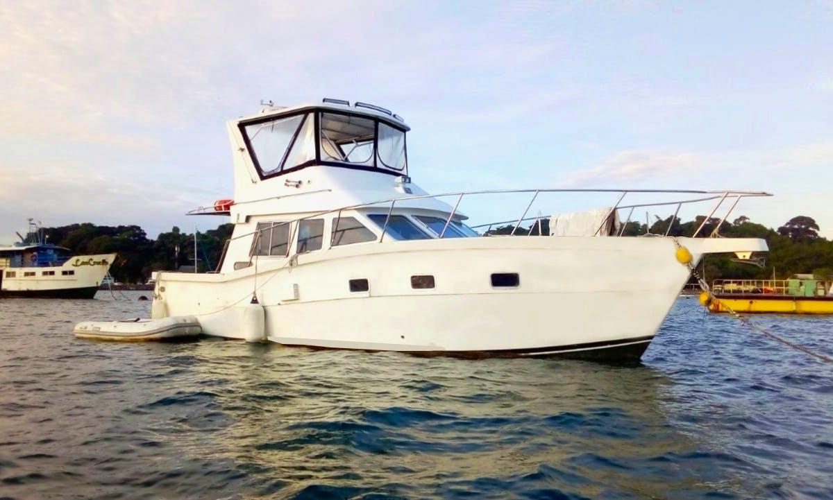 Charter Orion Motor Yacht in Panama City, Panama