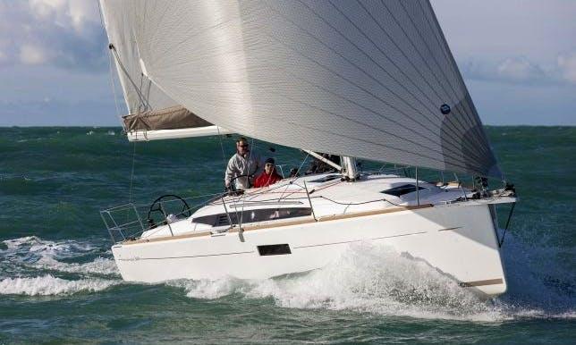 Phoenix 35ft Jeanneau Sun Odyssey 349 Cruising Monohull rental in Scotland