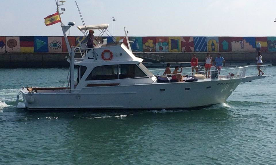 Amazing 44' Striker Flybridge Sportfishermans Yacht for Rental El Puerto de Santa María
