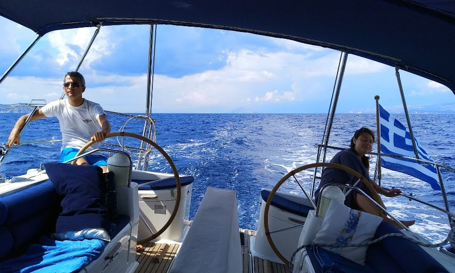 Fully crewed Jeanneau 52.2 - Sailing Charter for families