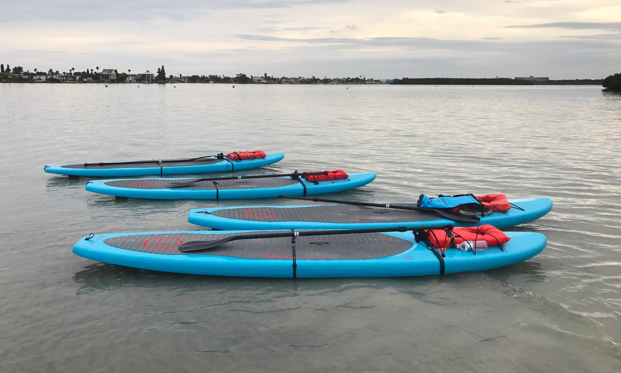 Stand Up Paddleboard Rental and Tour in Treasure Island, Florida