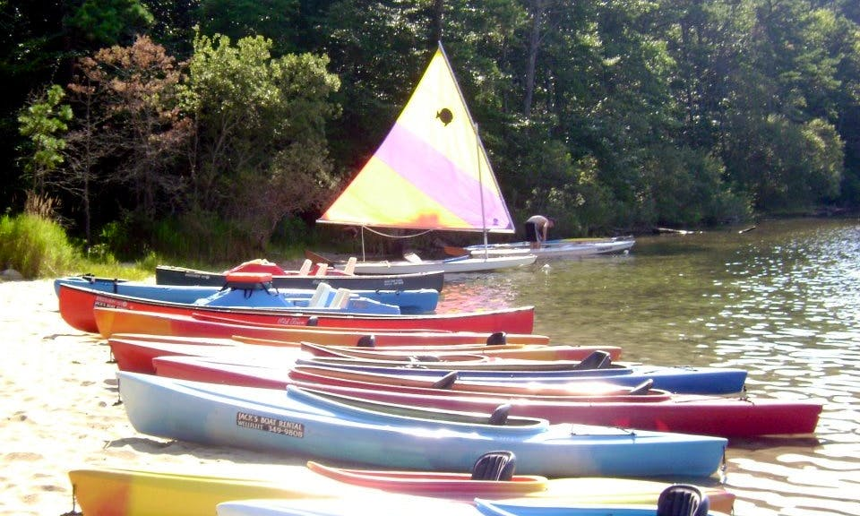 Double Kayak Rental Available in Wellfleet and Brewster