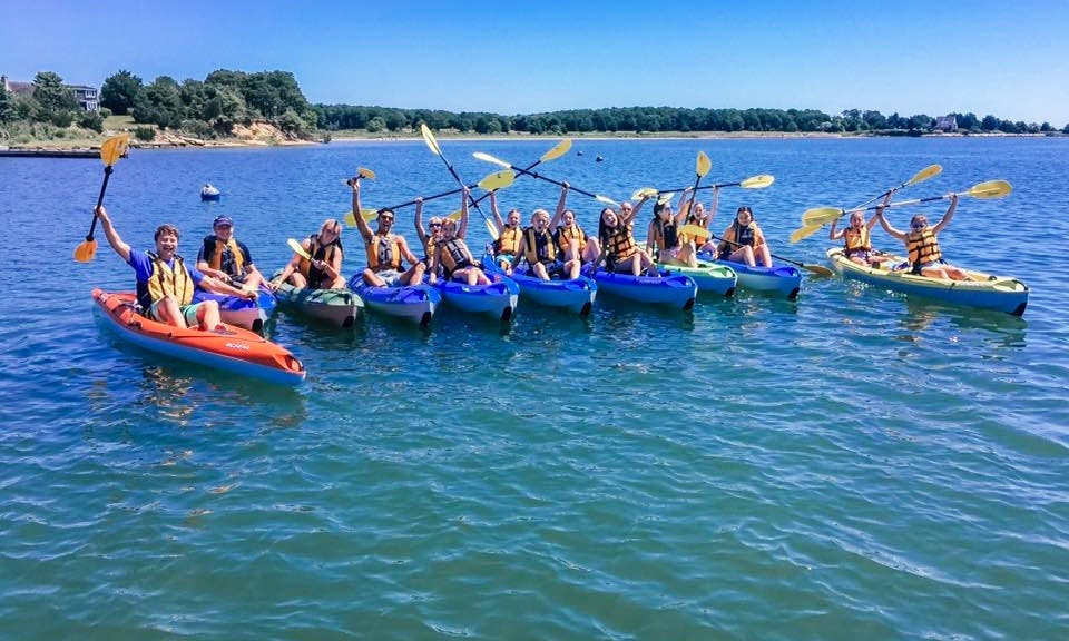 Single Sit-On-Top Kayak Rental and Tour in Oak Bluffs