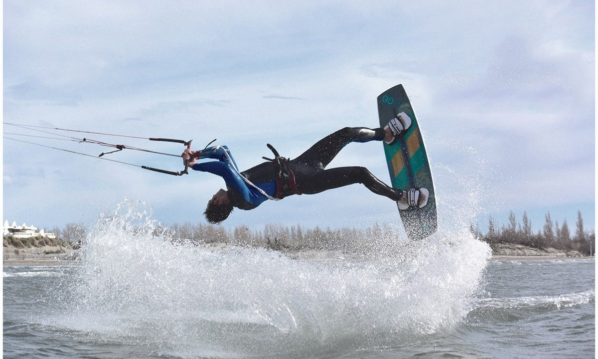 Action Packed Kiteboarding Adventure in Crystal Coast