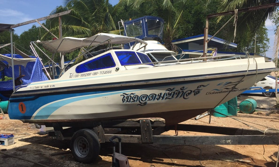 Fishing Charter for 6 People in Tambon Pa Klok, Thailand