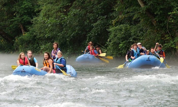 Go Adventure Whitewater Rafting with Us in Elizabethton, Tennessee