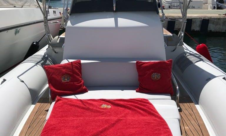 2008 Pirelli 1000 RIB With Cabin And Toilet Rental In Eivissa, Spain