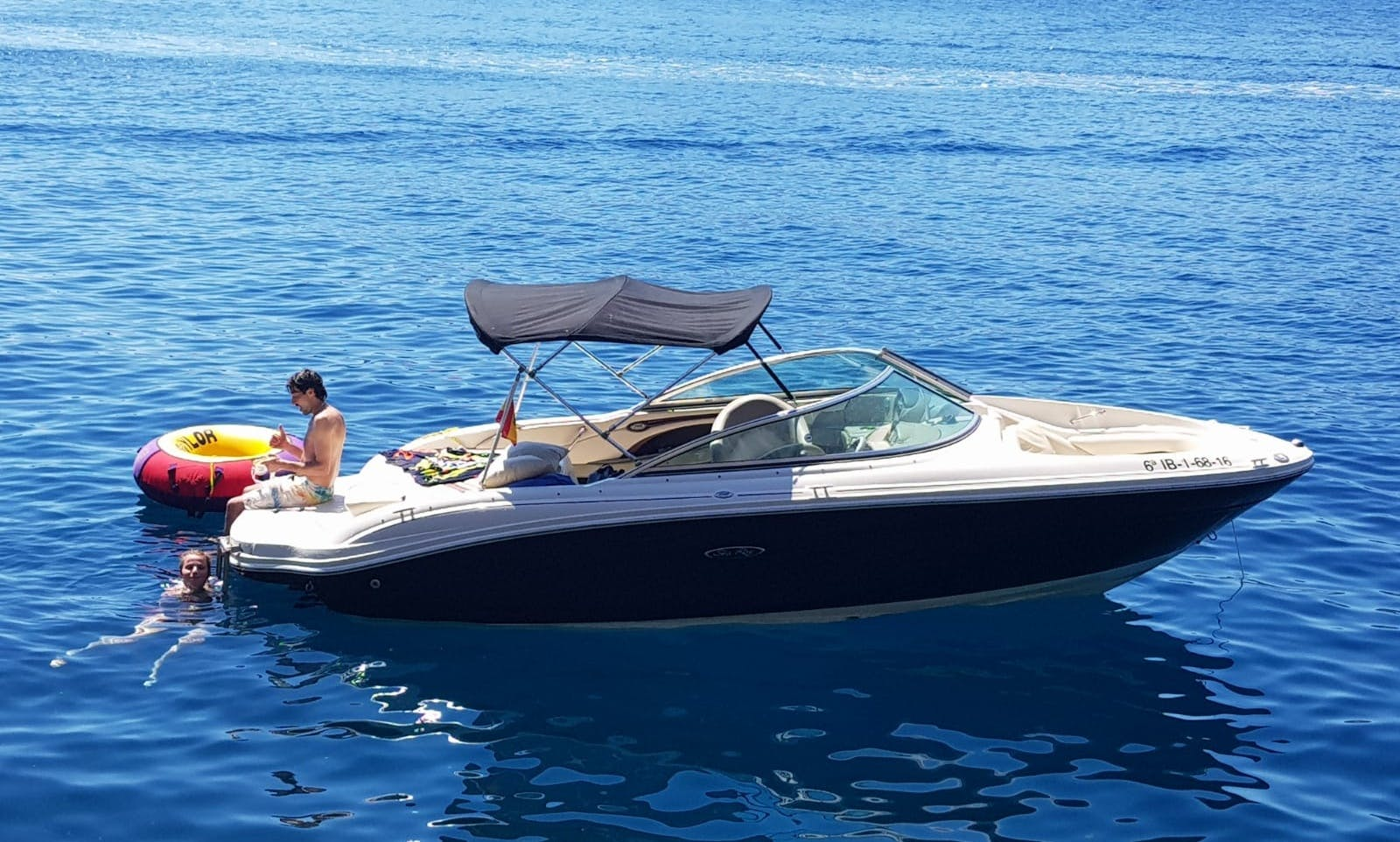 Well Maintained Sea Ray 200 Bowrider with 350 V8 Engine in Ibiza, Spain