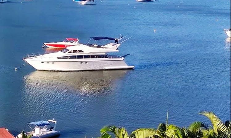 19 Person technema 65 Motor Yacht rental in Rio de Janeiro