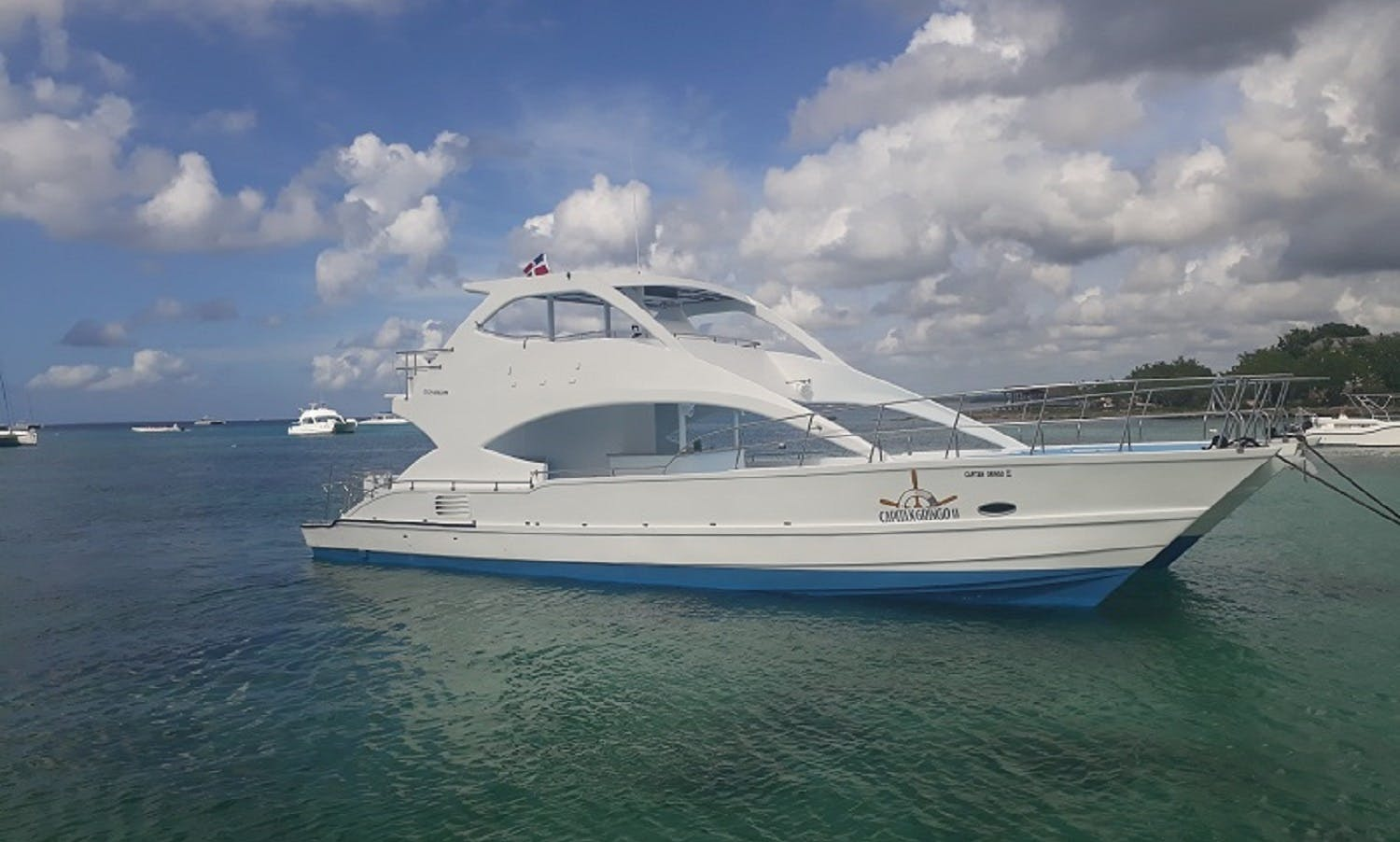 Motor Yacht rental in the Dominican Republic