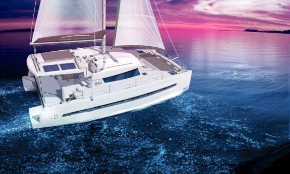 Sailing Catamaran Bali 4.0 With Watermaker for Charter in Cienfuegos, Cuba
