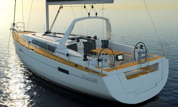 Brandnew Oceanis 41.1 Sailboat with 3 Cabins and 2 Head in Cienfuegos, Cuba