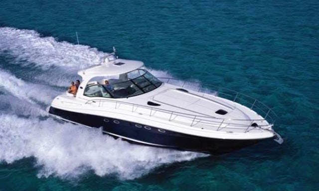 50' Sunseeker Sundancer (Captained Charter) in Cancún, Mexico