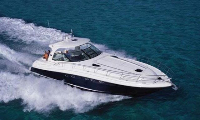 Charter this 50 foot Sunseeker Sundancer in Cancún with a Captain