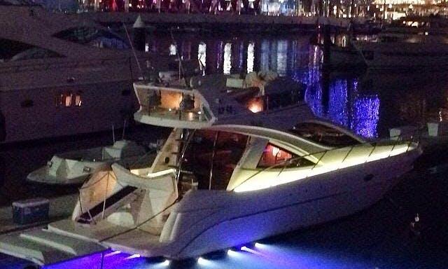 Glamorous 42' Motor Yacht Rental in Abu Dhabi, UAE