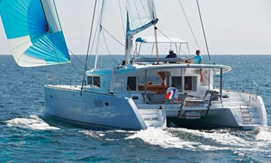 Lagoon 450 Cruising Catamaran in Cienfuegos, Cuba