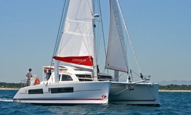 Enjoy Sailing Aboard A Catana 42 Ci Cruising Catamaran In St Lucia!