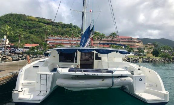 Unique Experience On This Beautiful 48' Salina Cruising Catamaran in Rodney Bay, St. Lucia