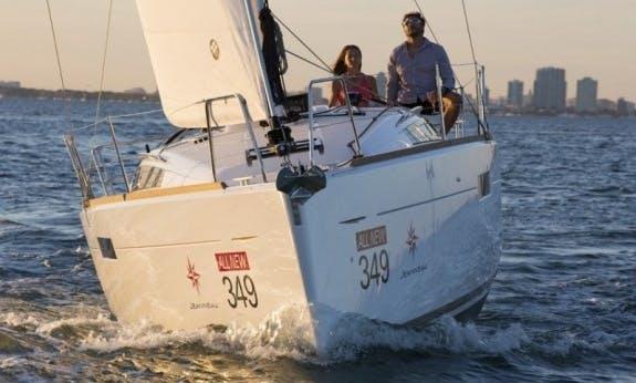 Start Your Sailing Vacation in British Virgin Islands On 34' Salina Sun Odyssey Yacht!
