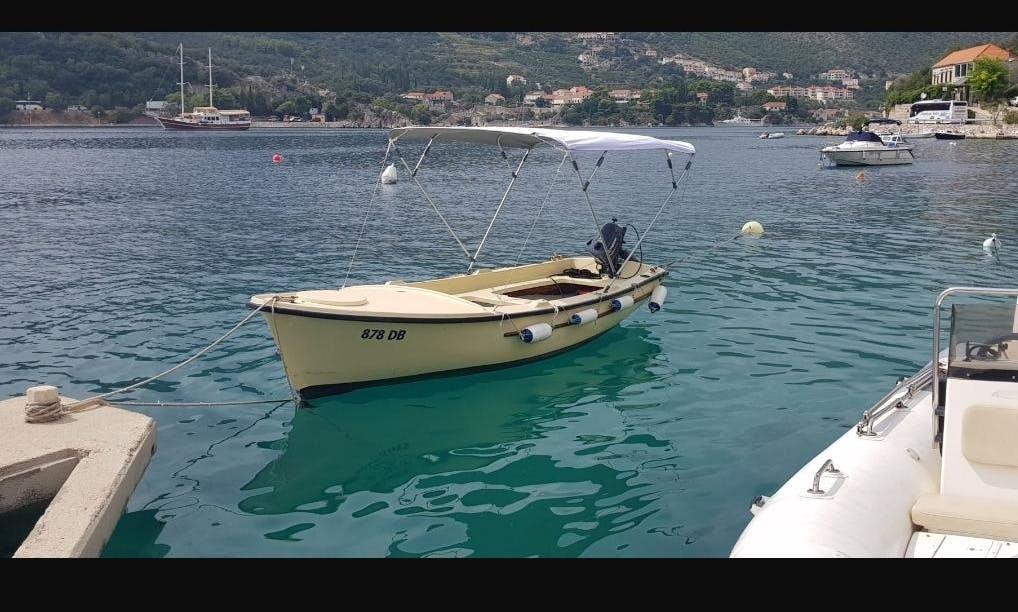 Powerboat Rental for 5 People in Dubrovnik, Croatia