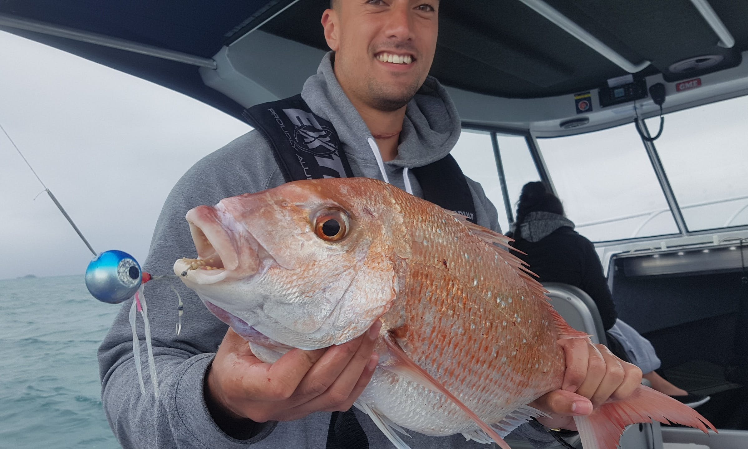 Auckland Fishing Charter on Extreme 795 Walk Around Boat with Captain Lozza