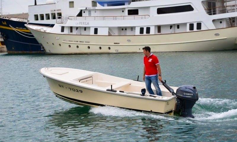 Ribar 500 Powerboat in Vranjic, Croatia