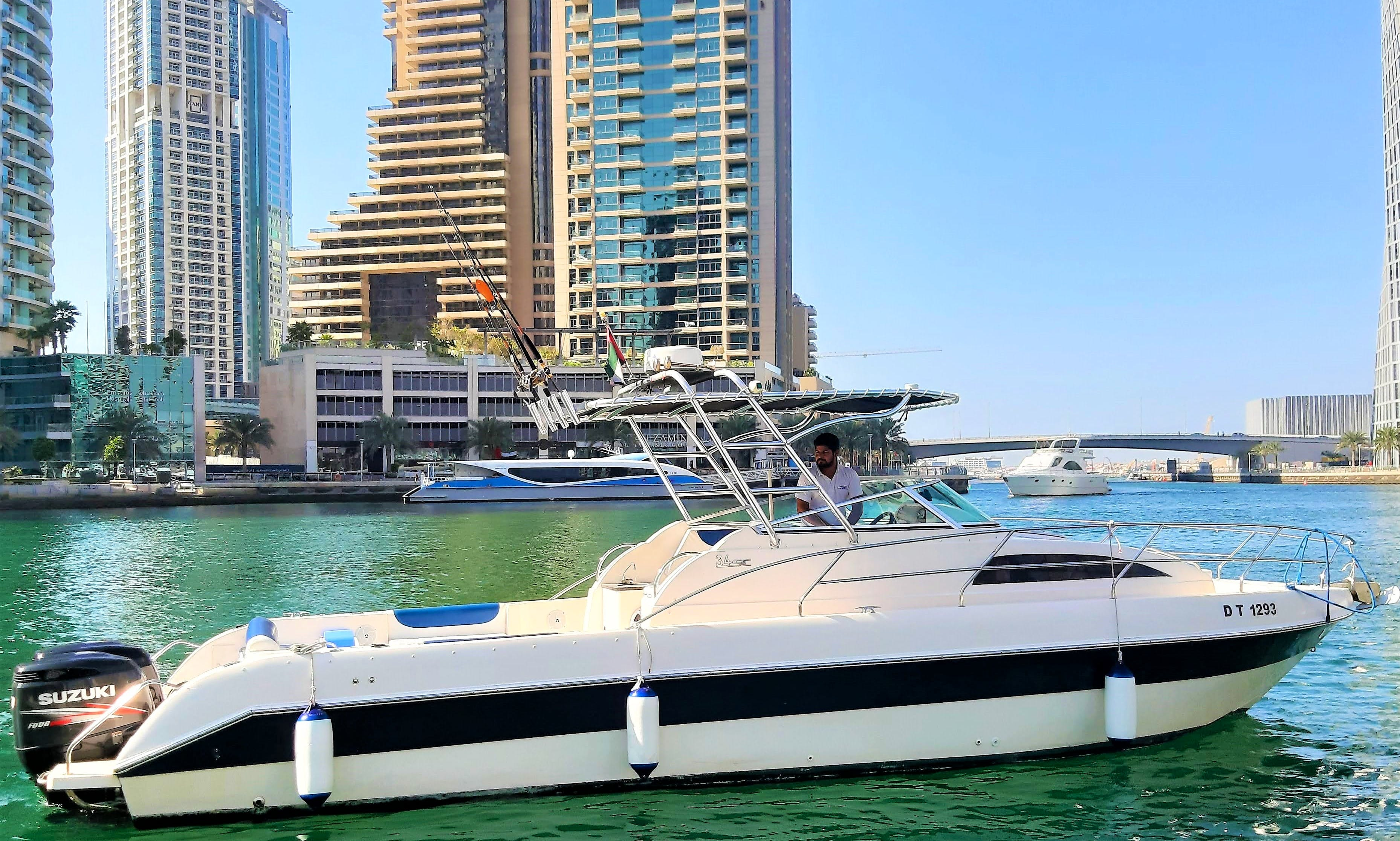 Private Boat Tour / Burj Al Arab / Atlantis / Dubai Palm Tour / Dubai Boat Tour