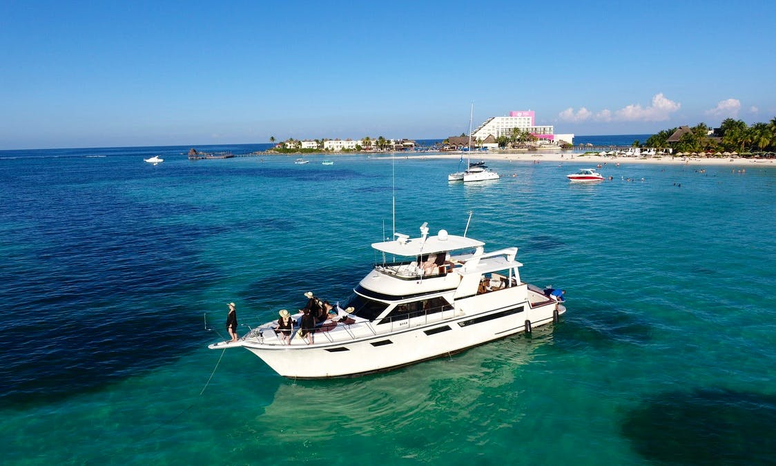 Party Motor Yacht rental in Cancún