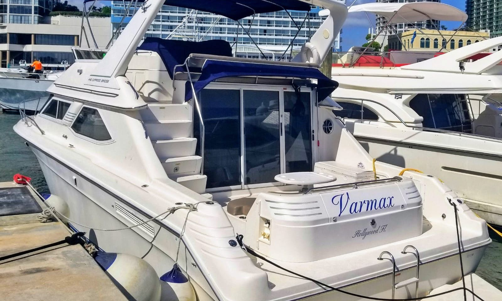 45 foot Searay Motor Yacht rental in Miami