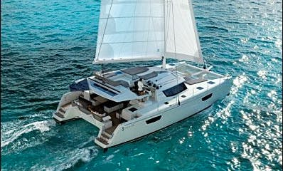 Skippered Saba 50 Catamaran With Watermaker And Aircon - Plus in Marigot, St. Martin