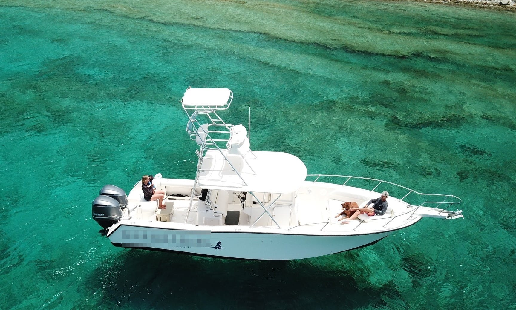 """Book a Powerboat Excursion on """"Gypsea Girl"""" in St John, USVI"""